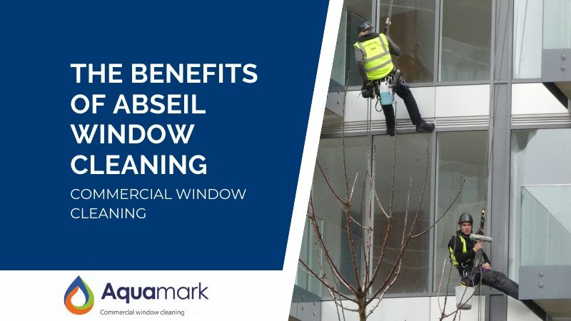 The Benefits Of Abseil Window Cleaning - Commercial Window Cleaning