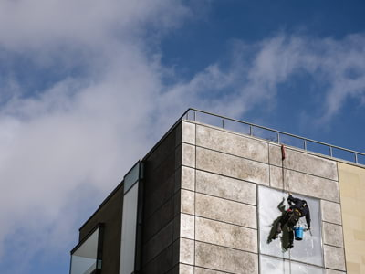 Business property safety guides - is your façade safe? | Aquamark Cleaning