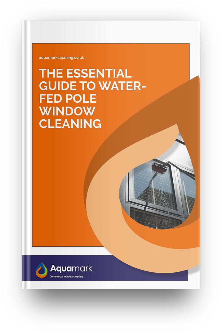 water-fed pole window cleaning - commercial window cleaning